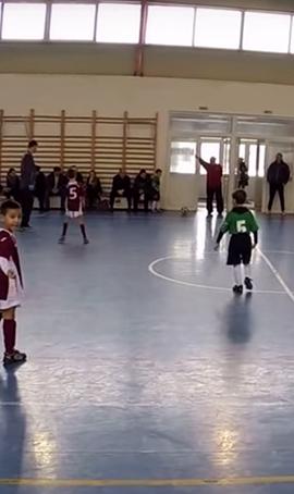 CFR 1907 Juniori 2008 – ACS Transilvania Bistrita – Repriza 1 (Cluj-Napoca 07.02.2015)