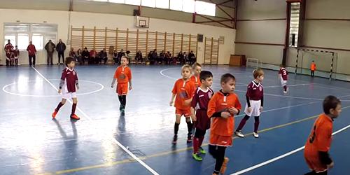 CFR 1907 Juniori 2008 – ACS Transilvania Bistrita- Repriza 2 (Cluj-Napoca 07.02.2015)